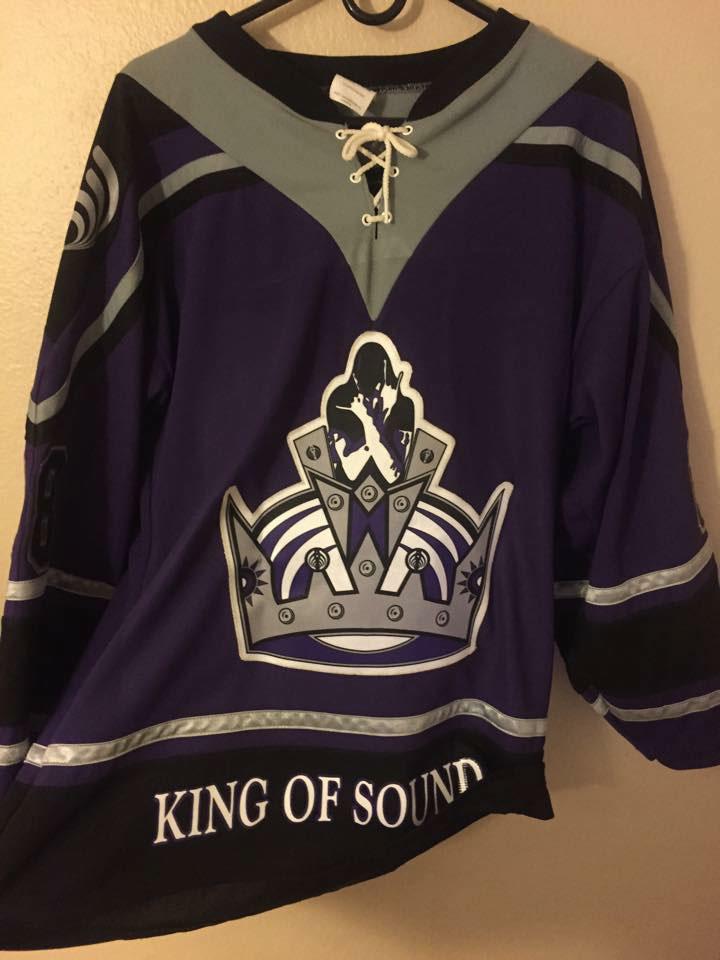 Bassnectar hockey jersey