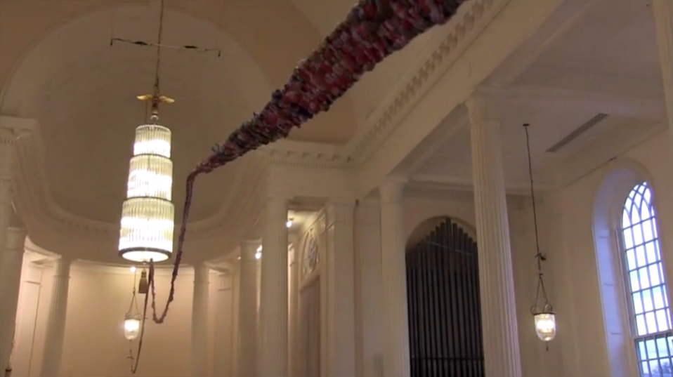 camille hoffman jon seals Yale University worship arts installation sculpture