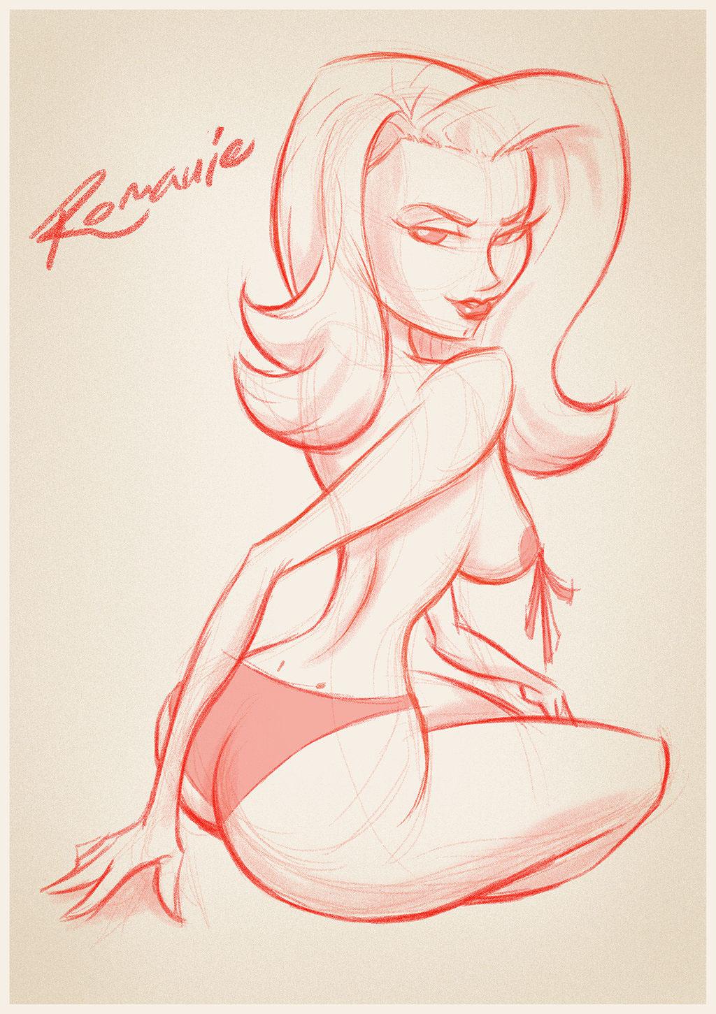 Sexy Ladies Sketches on Behance