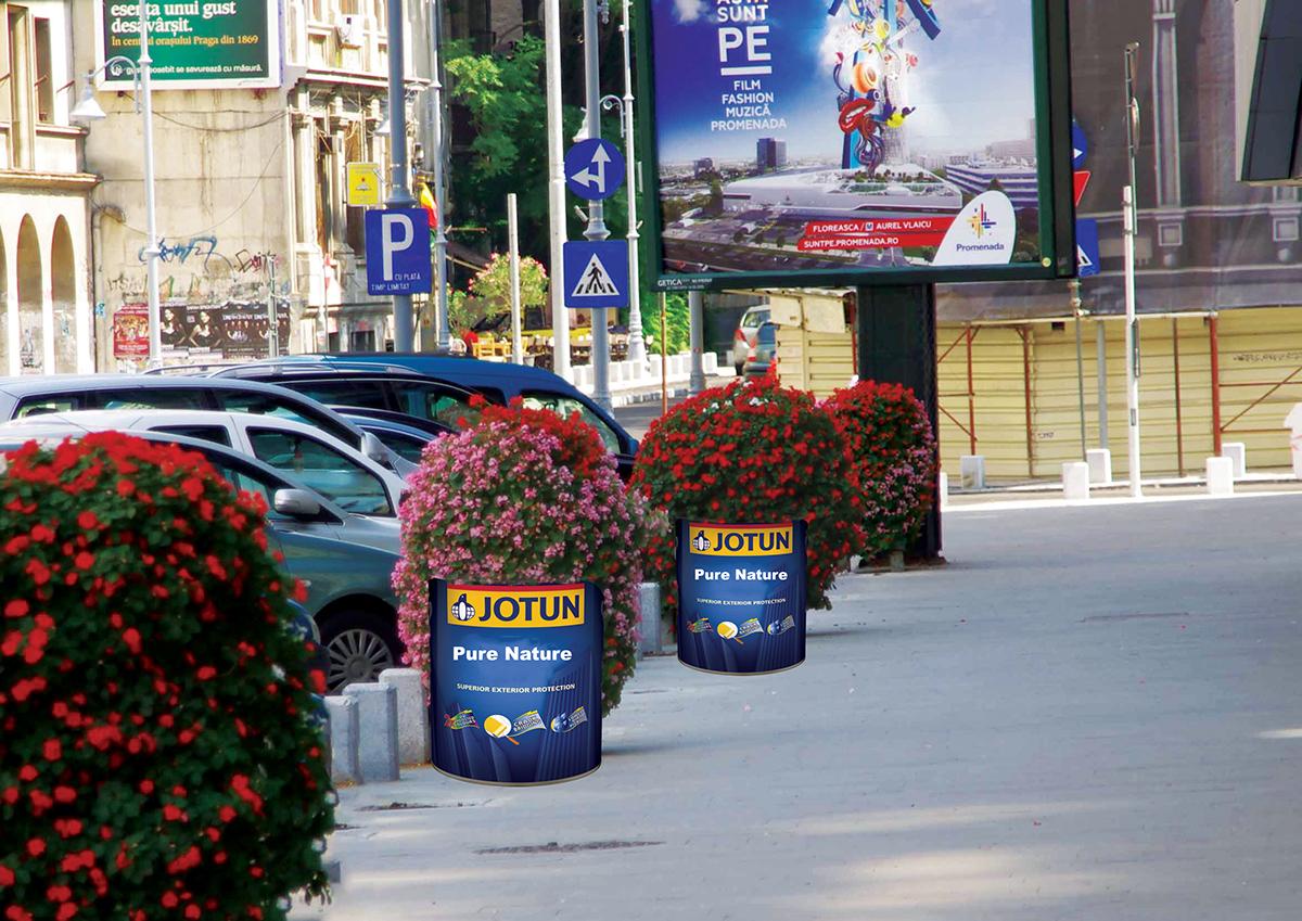 Jotun ( Ambient Ads  ) on Behance