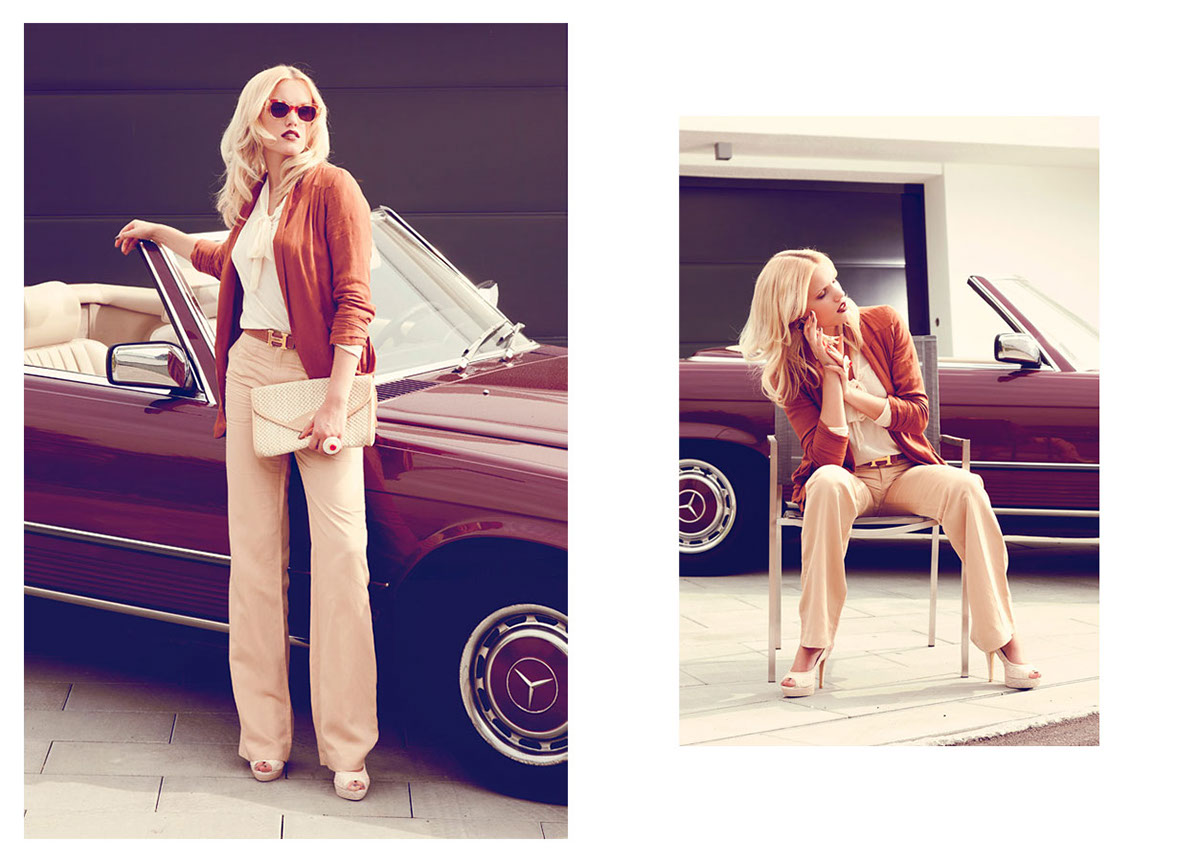 hollywood  Photography Lookbook editorial Retro chic 70ies