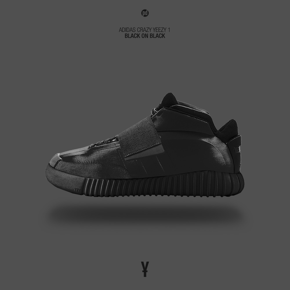 430bb9301abb adidas Yeezy Boost x adidas Basketball Sneaker Mash Up on Behance