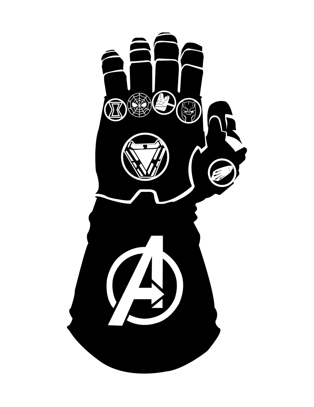Avengers Infinity War Symbol On Behance