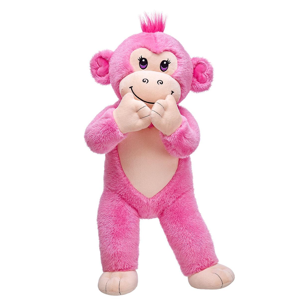 build-a-bear toy plush stuffed animal marvel rainbow teddy bear