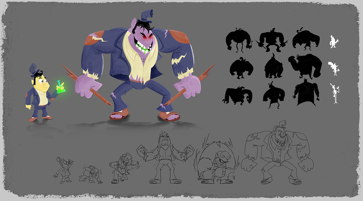Character Design Visual Development : Character design visual development portfolio on