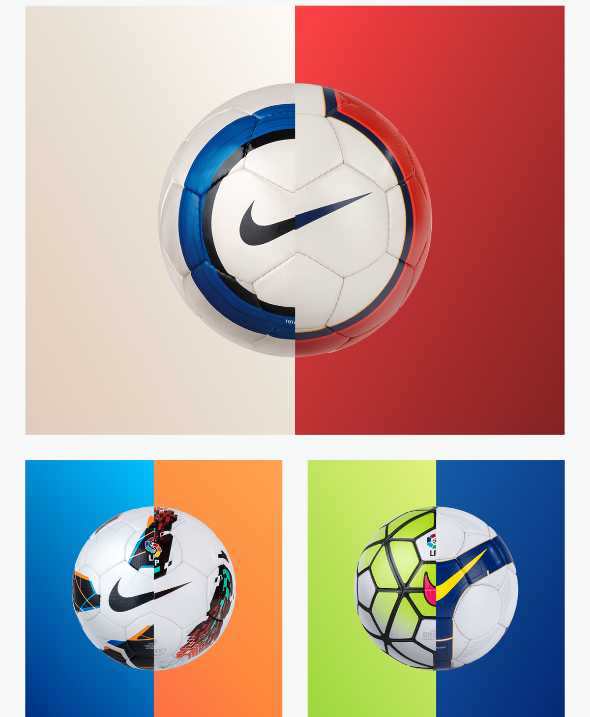 dd7c242d6d0 Nike - LaLiga Ball Hub - Website on Wacom Gallery