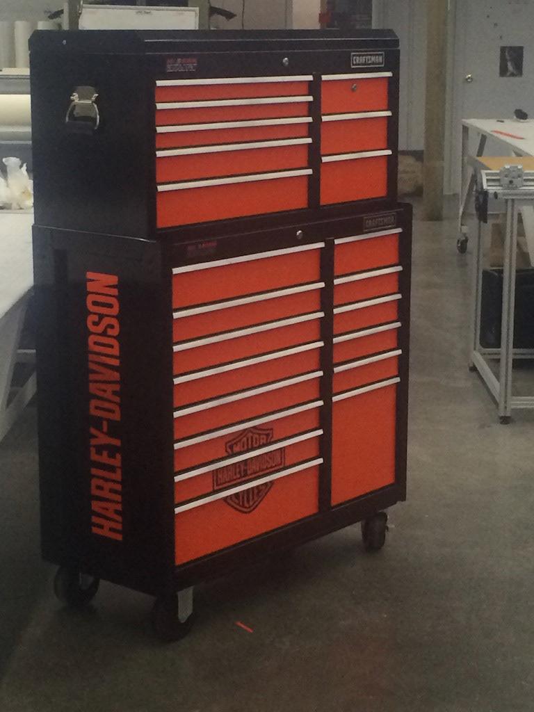 Harley Davidson Tool Chest On Behance
