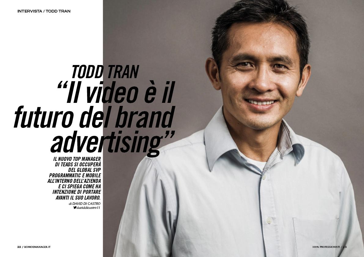 Uomo&Manager,magazine,Francesco Mazzenga,Andrea Castrignani