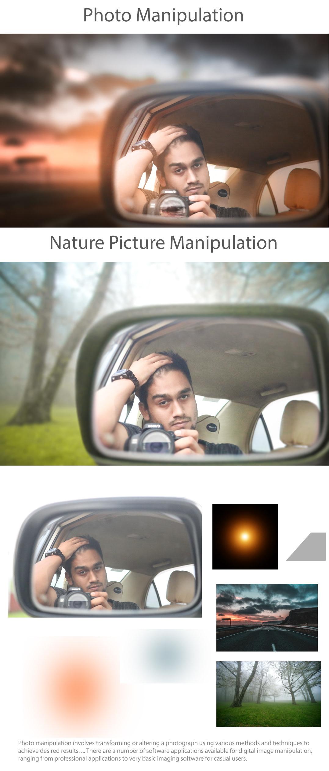 Image may contain: mirror, car mirror and car
