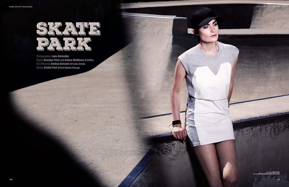 Skate Park | Dark Beauty Magazine on Behance
