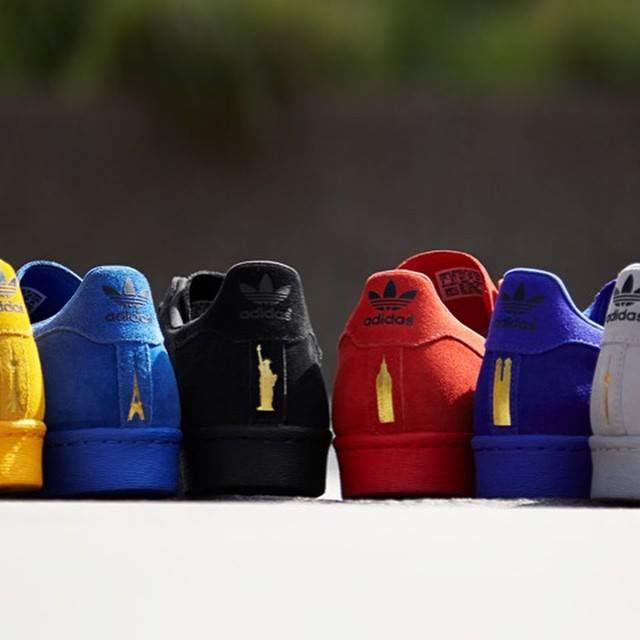 brand new 17c32 625e1 adidas Superstar 80s City Series on Behance