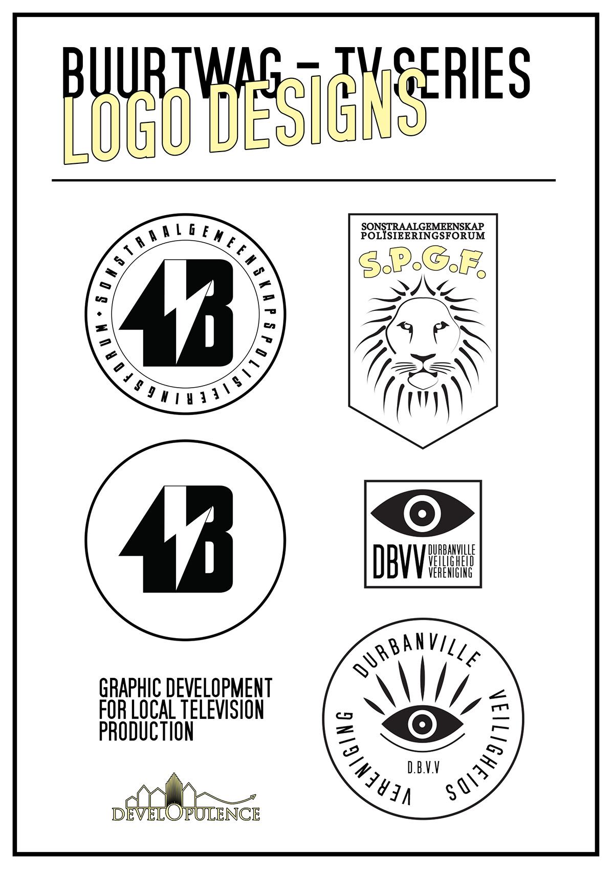 logo buurtwag thisisepitome design series tv series