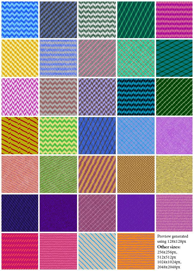 Chevron Fabric Seamless Tiling Patterns on Behance
