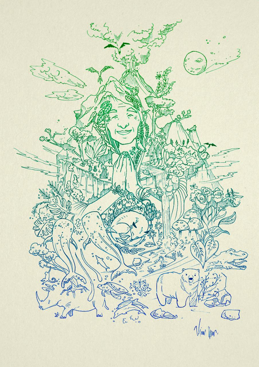 Desenho Educacao Mae Natureza Educational On Behance