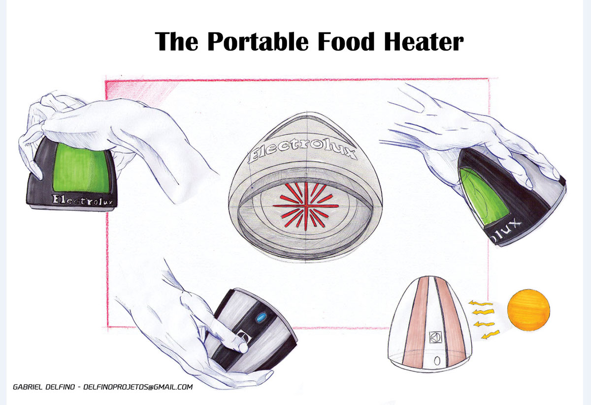 portable Food  Shells