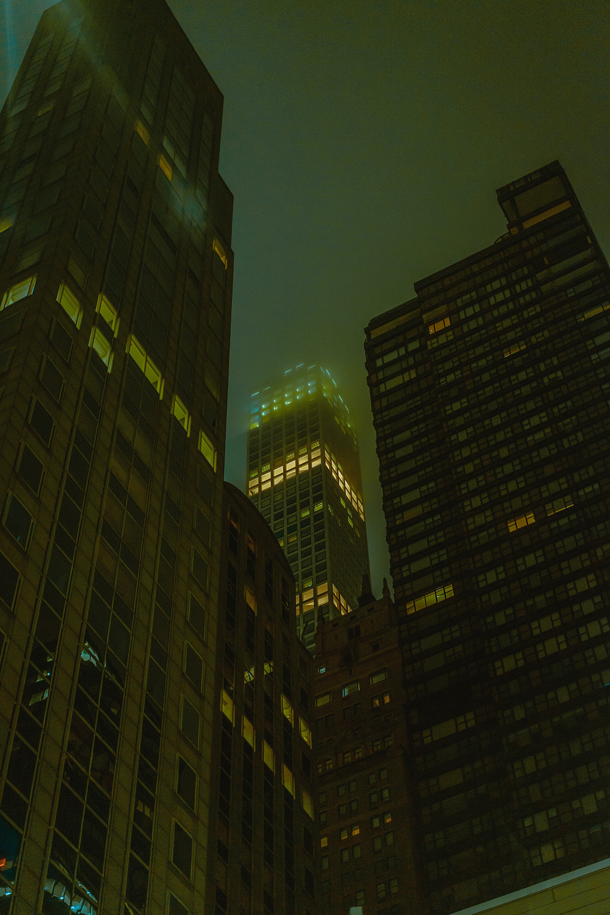 architecture cinematic Film   fog future night Photography  rain snow Street