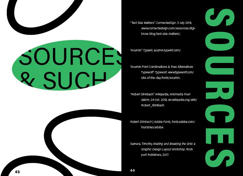 Typebook Specimen on Behance