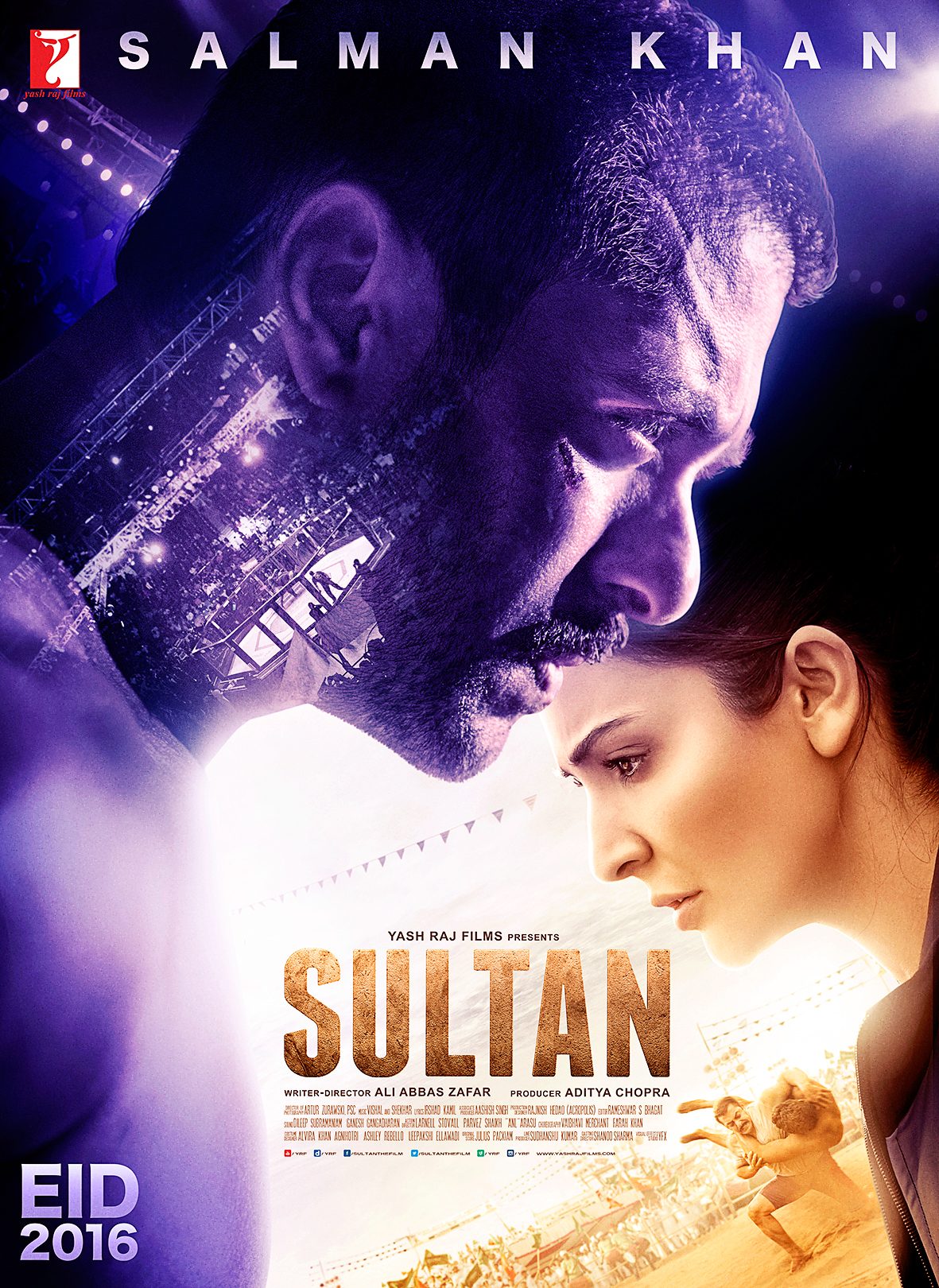 Sultan (2016) 1080p Blu-ray x264 AAC 5.1 Subs -DDR | G- Drive | 2.40 GB |