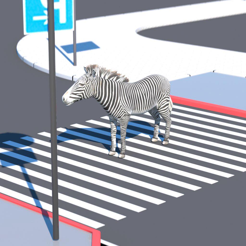 animation  c4d cinema4d lockdown motiondesign motiongraphics octanerender   otoy zebra zebracrossing