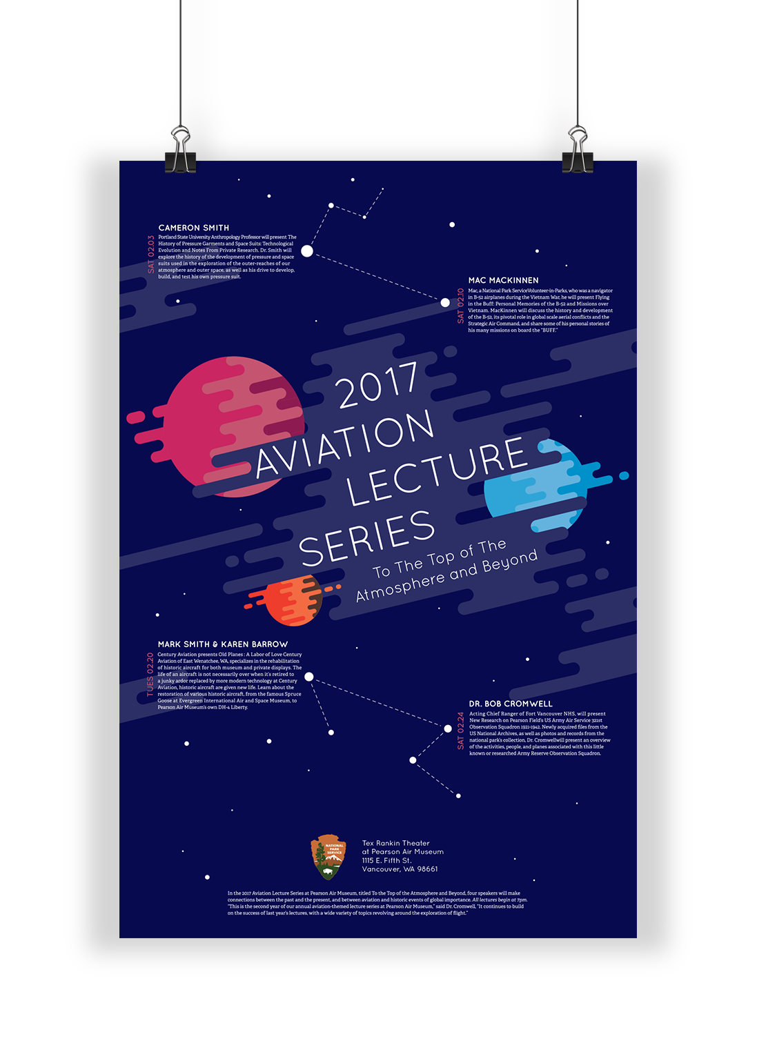 Aviation Lecture Series Poster on Behance