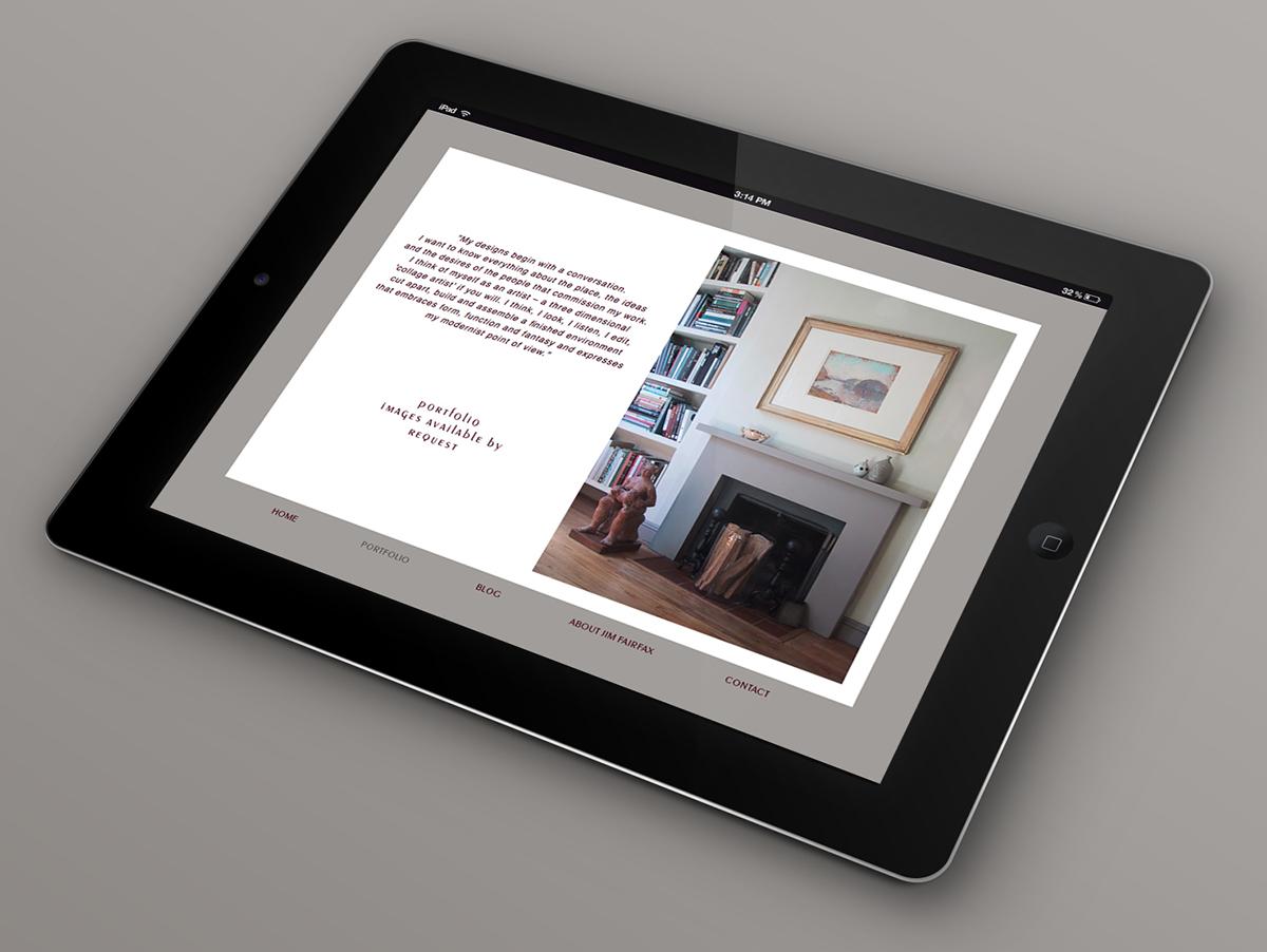 Website design for NYC Interior Designer