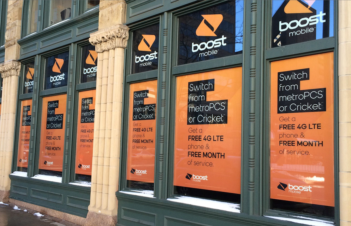 Boost Mobile OOH on Behance