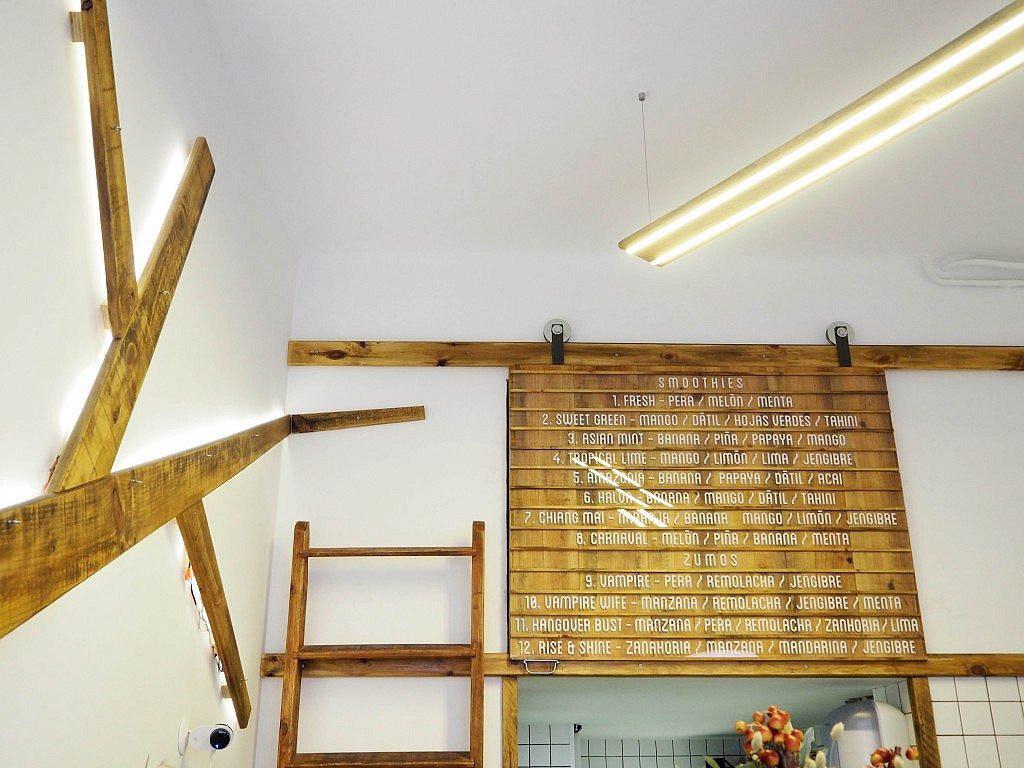 bar diseño Interiorismo juice arquitectura