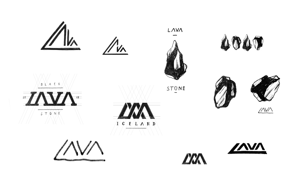 Lava Logo Branding On Behance