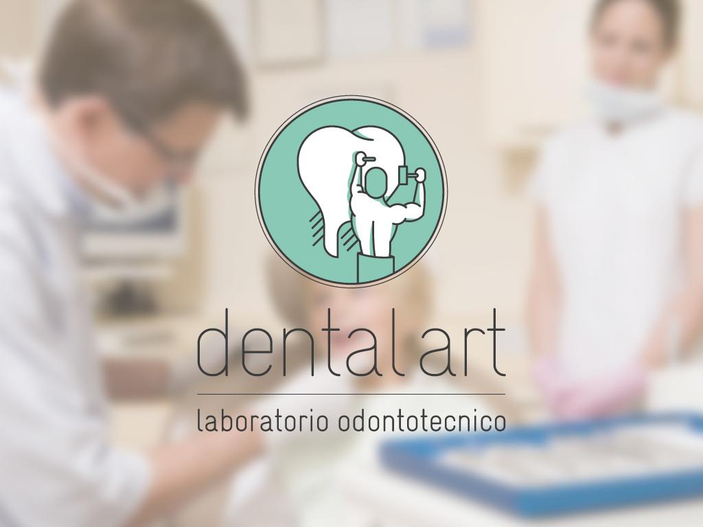 dental art dentist odontotecnico   dental technician  logo Logo Design minimal