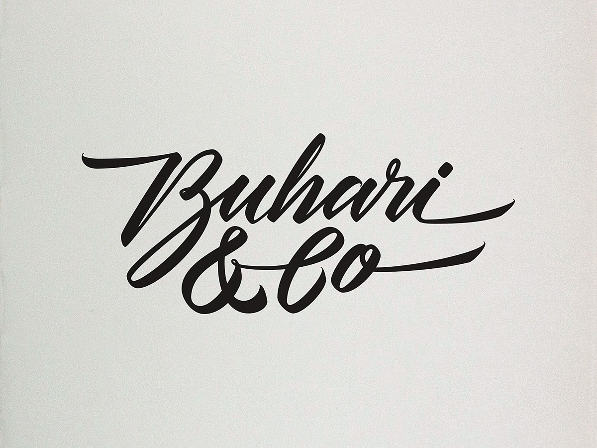 Calligraphy lettering collection on behance