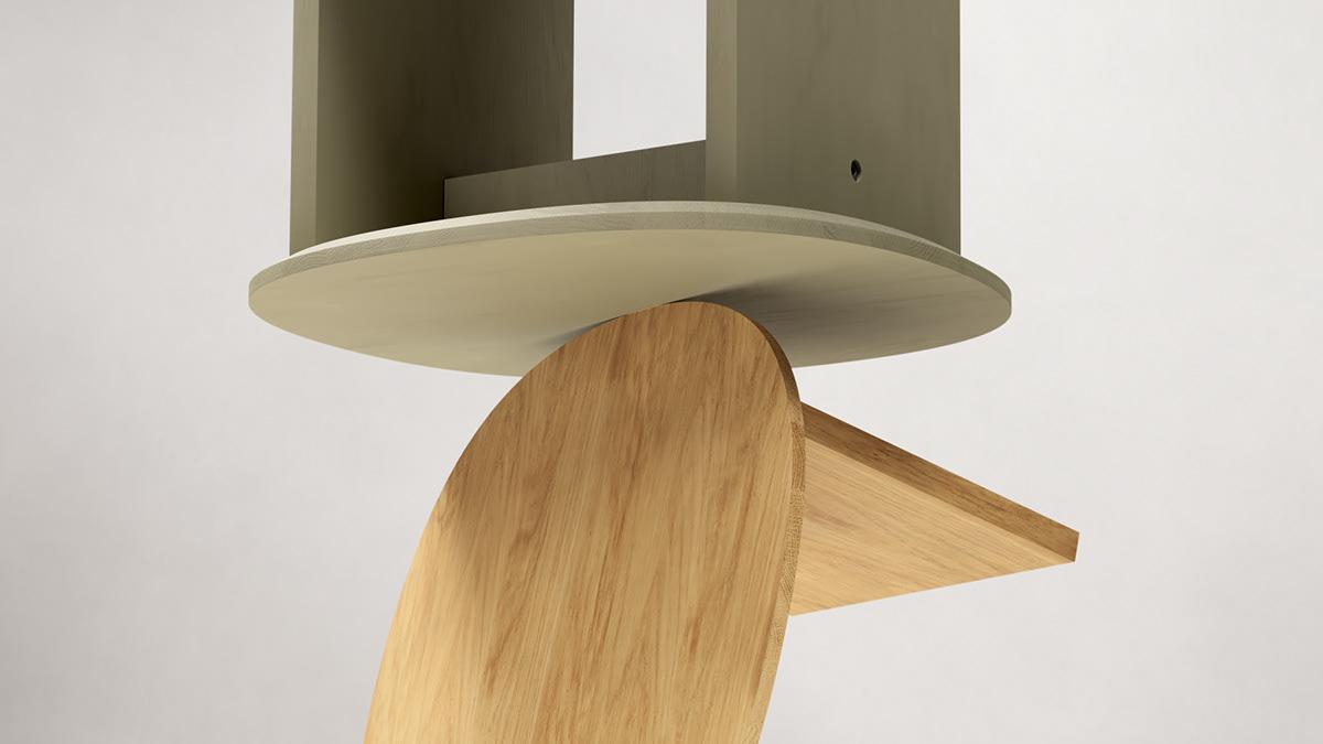3D 3d animation 3d design animation  art direction  design furniture modern motion design nordic