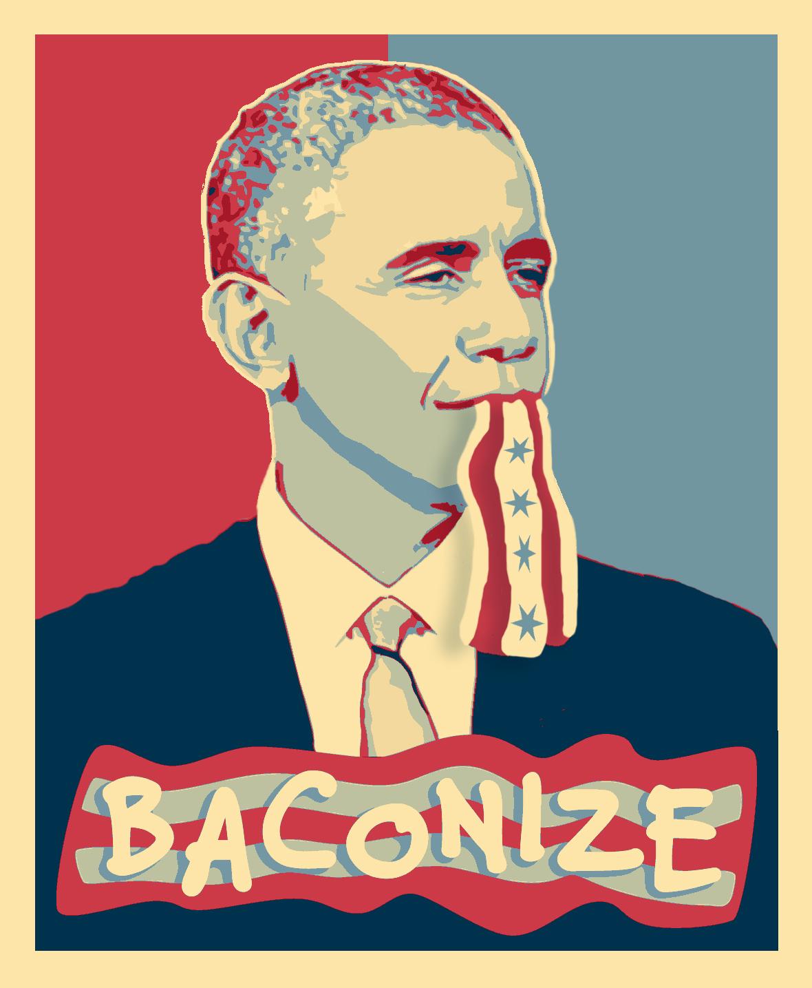 obama baconize