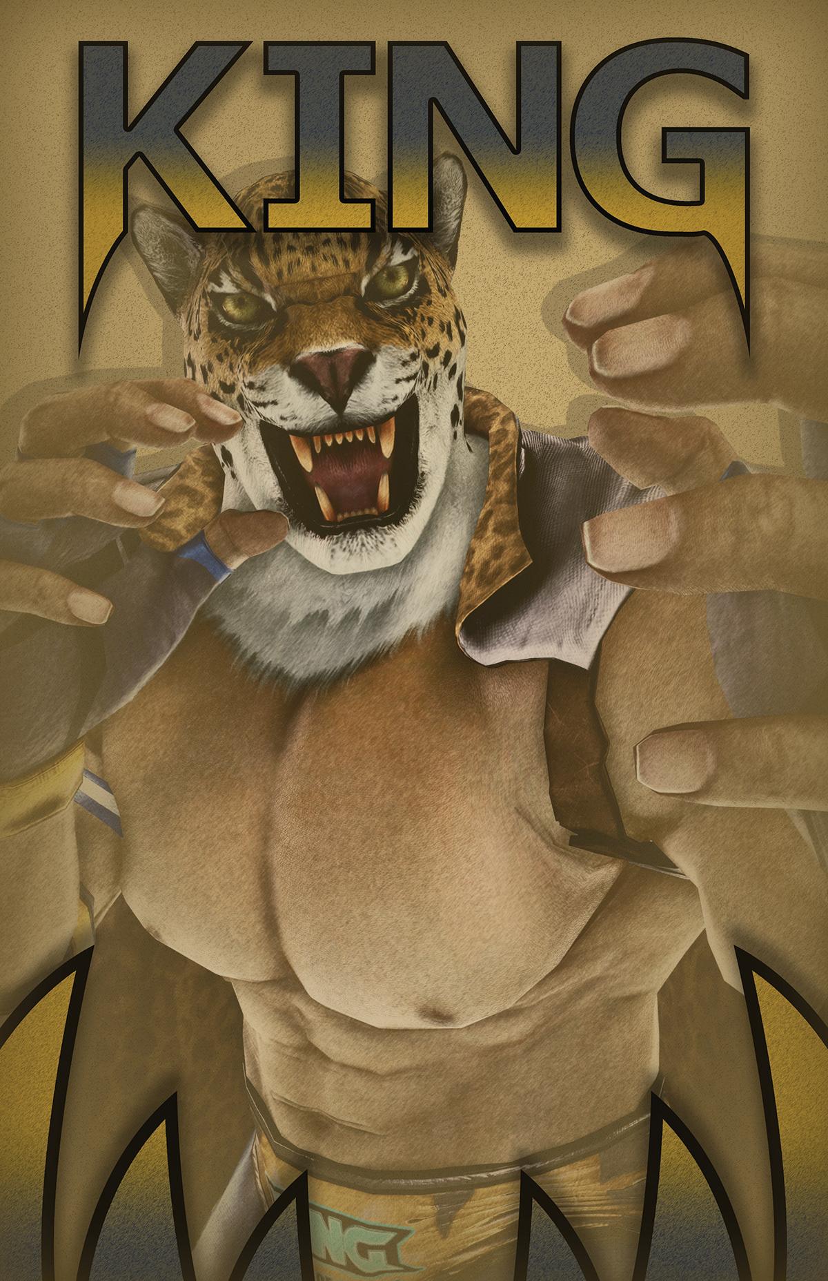 Tekken 7 King Poster On Behance