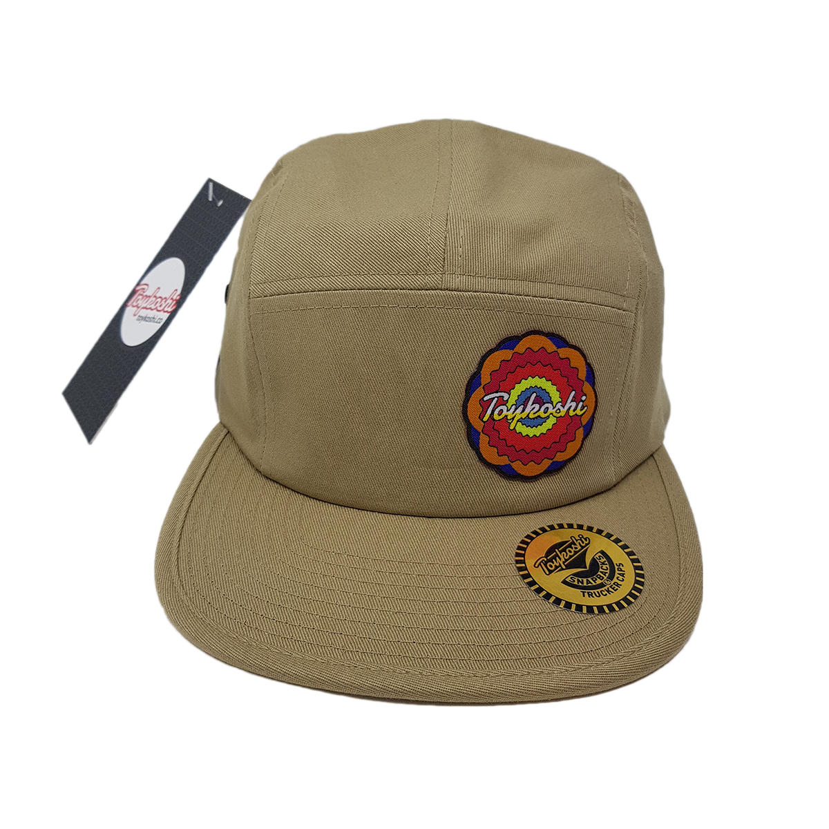 Toykoshi headwear patch rosette flower pink 5pannel cap hat head
