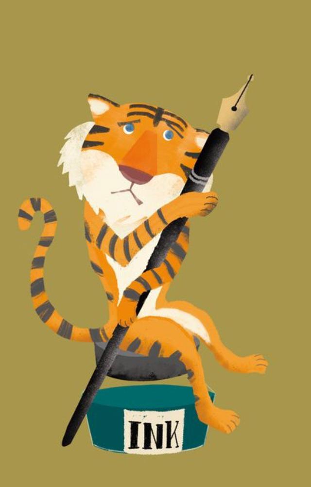 animal book Classic Fun graphic design  poster tiger