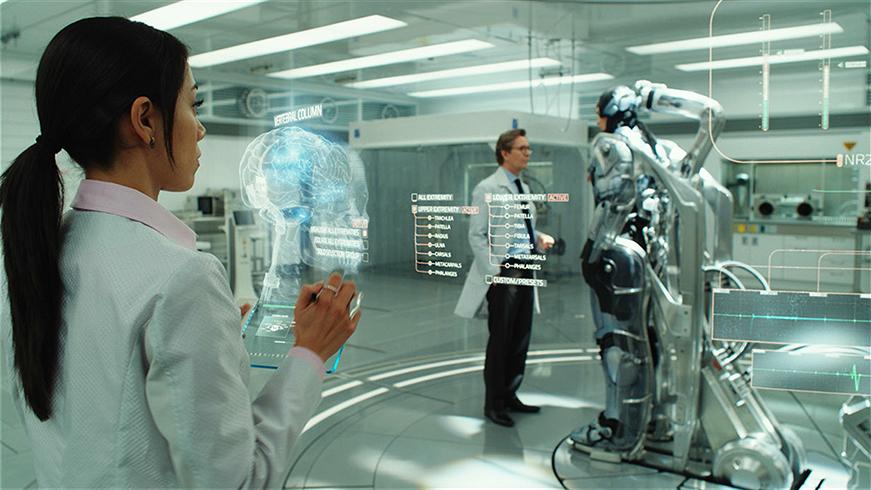 robocop UI ux movie