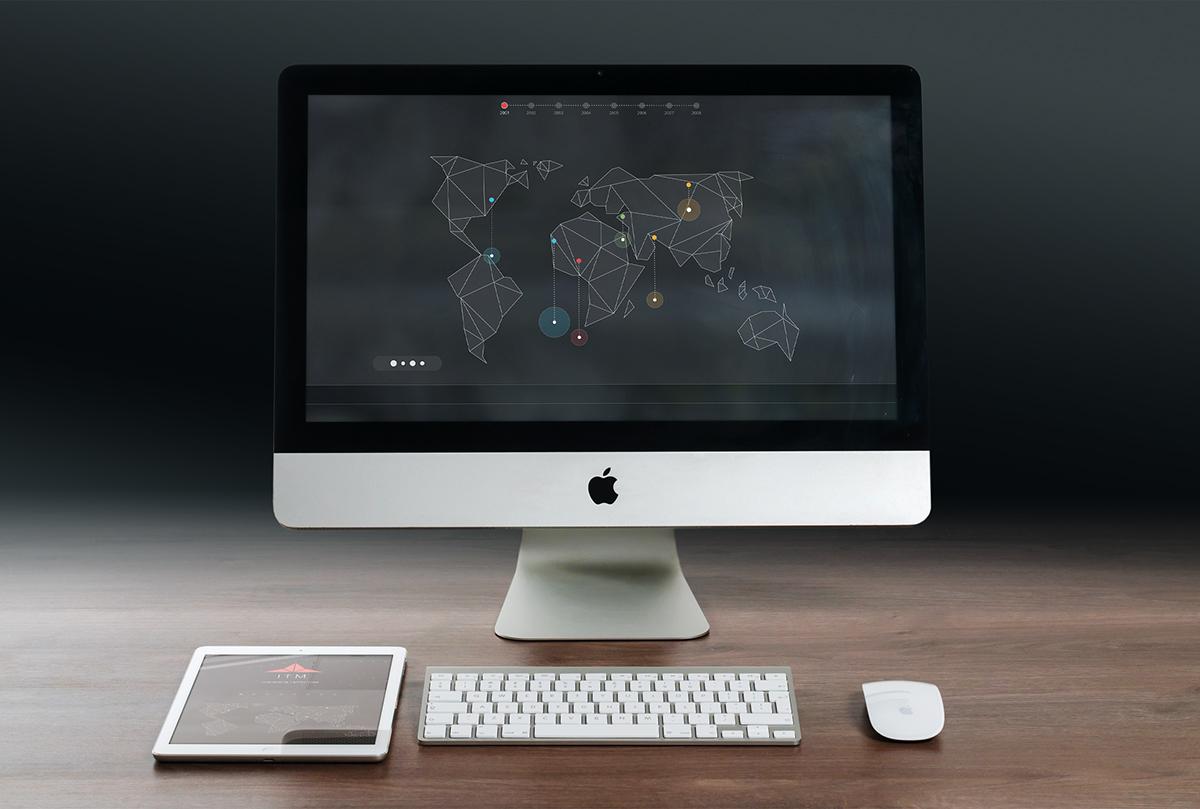 interaction prototype map UI app