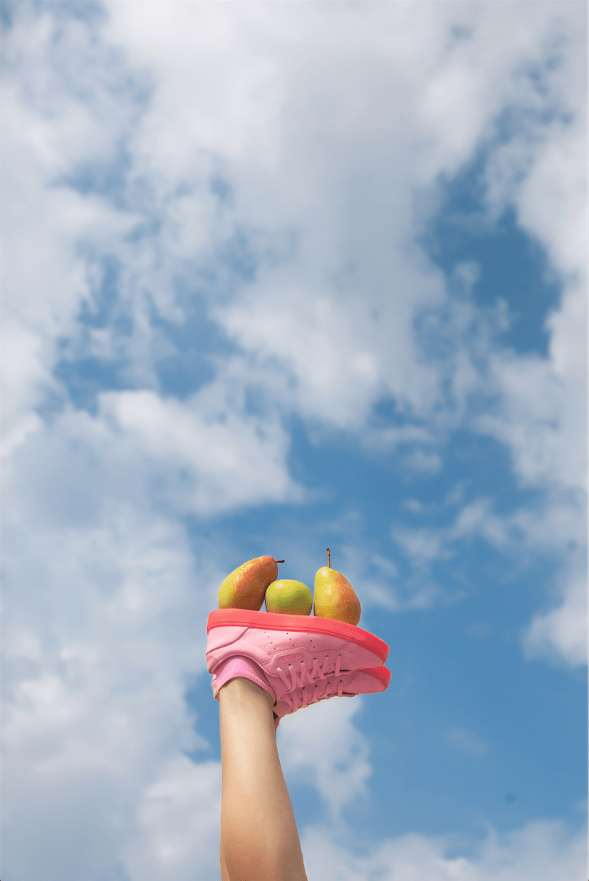 Life Style colour art photography conceptual photography fruits design apple flying fruits joy happy
