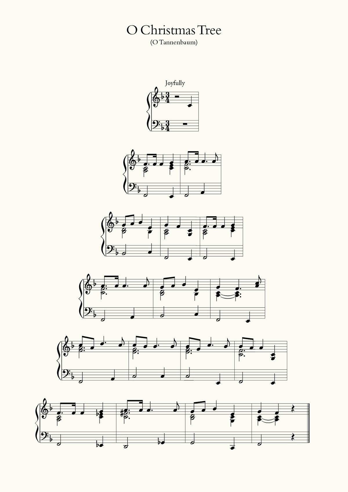 O Christmas Tree on Behance
