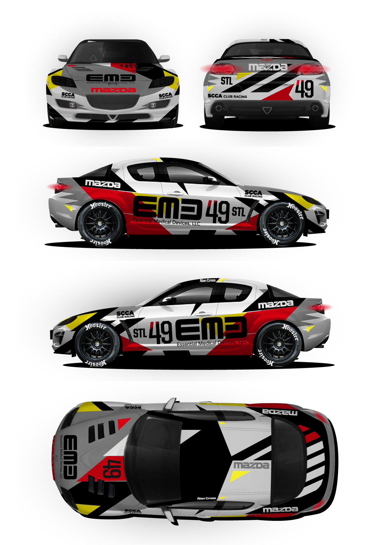 Livery Graphics on Behance