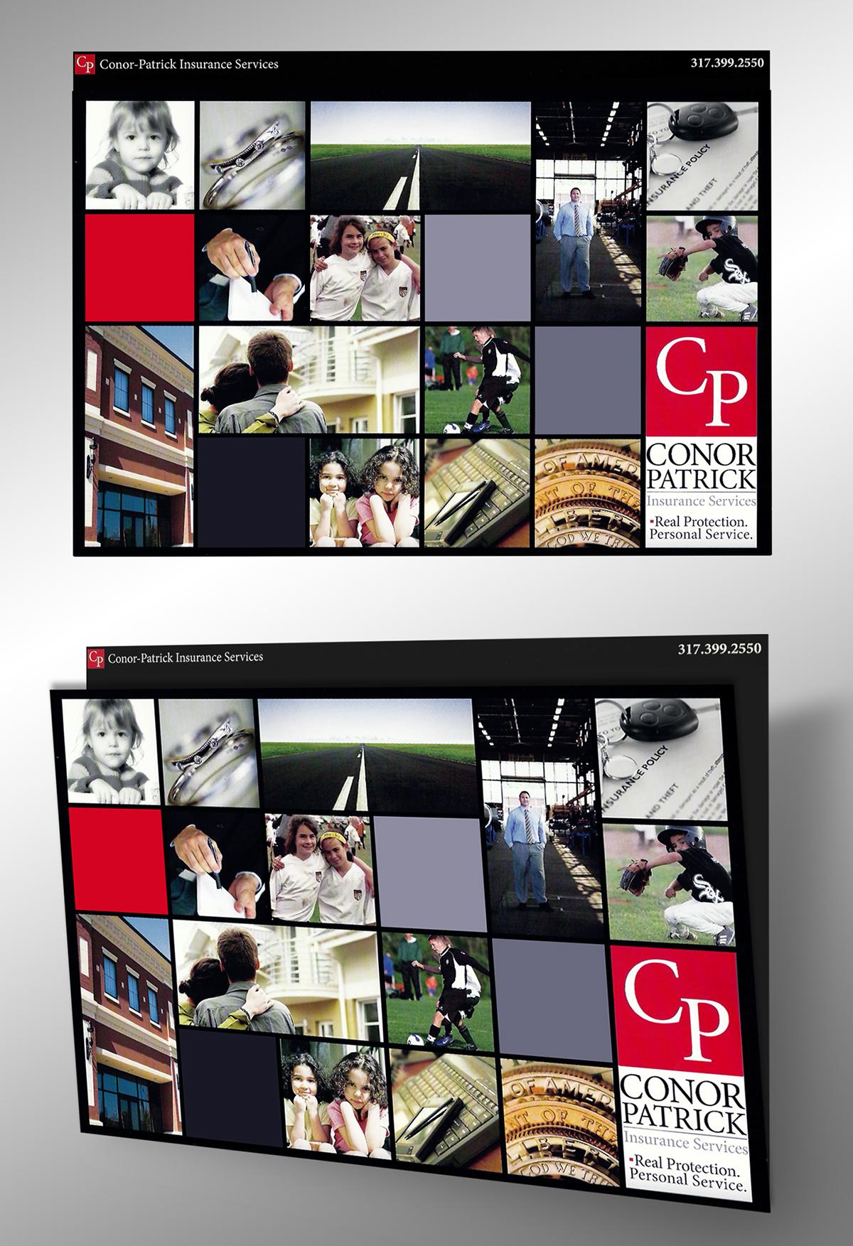 presentation folder conor patrick insurance on behance