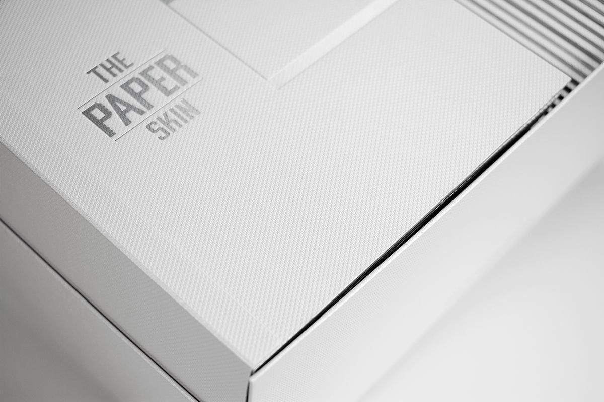 fedrigoni geometry global Leica camera Leica fine paper type design silver Hot Foil camera skin paper skin paper design book Structural