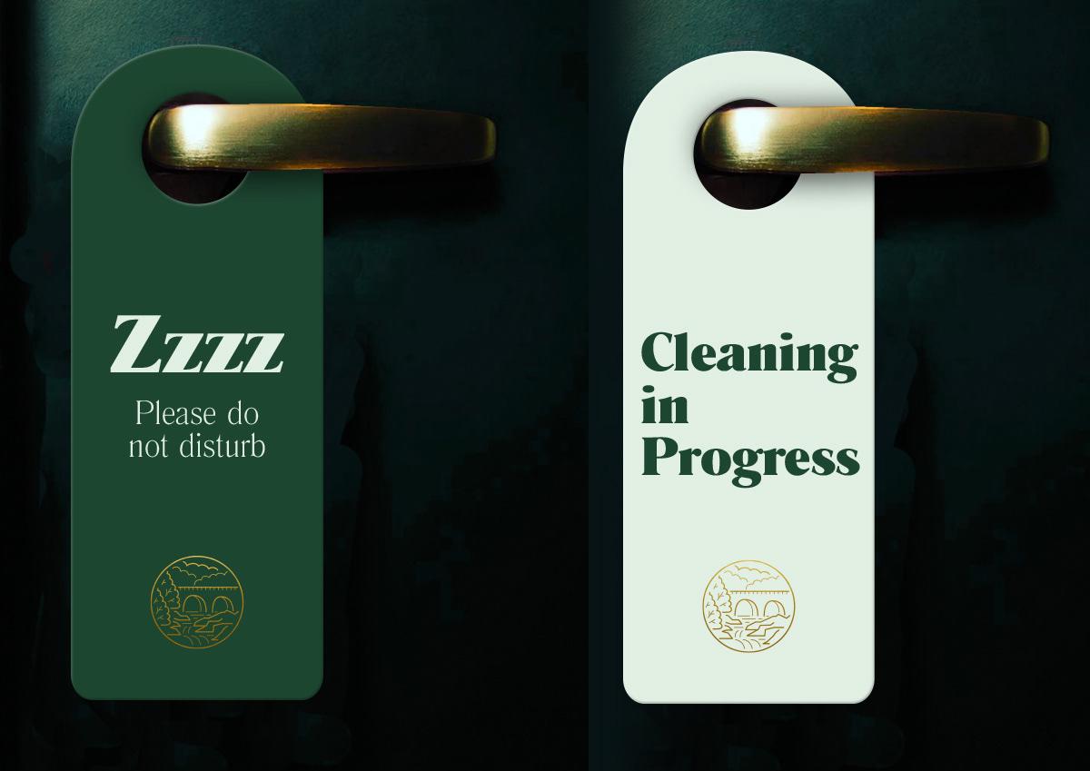 branding  design graphic design  Hospitality hotel identity Ireland logo