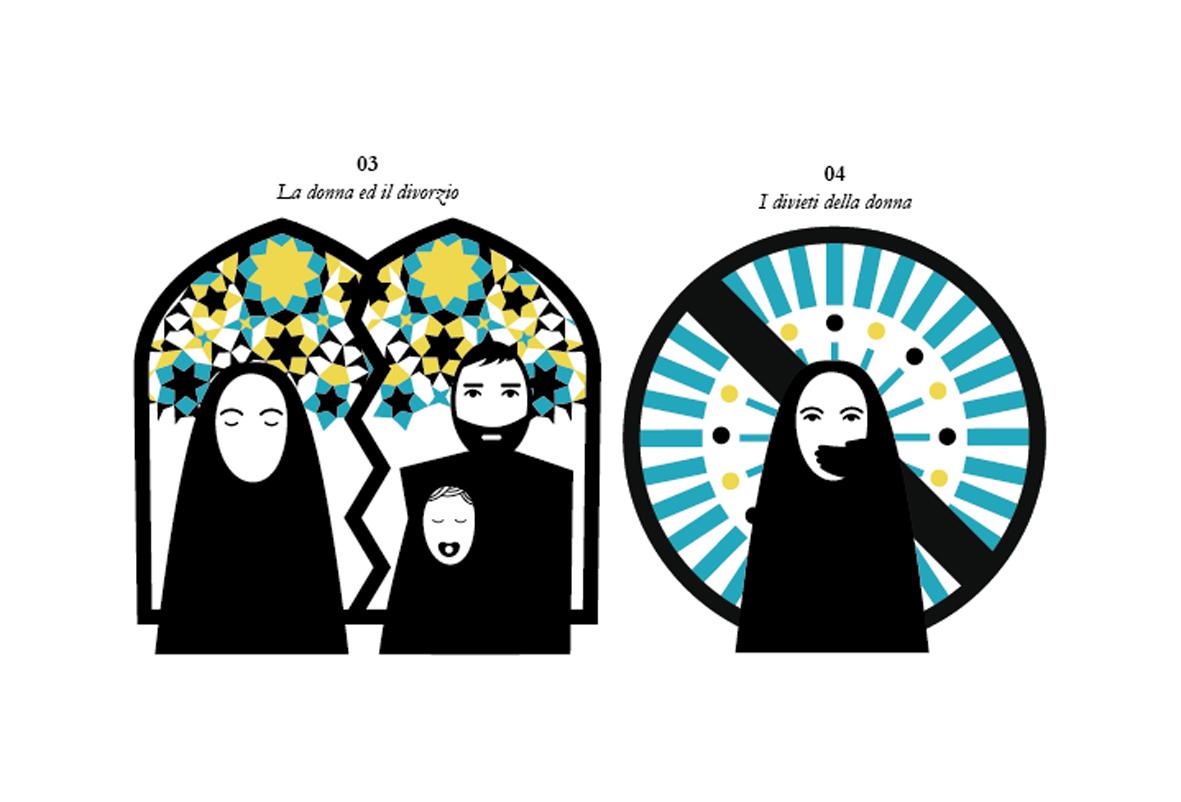 Cinema velo pattern illustrazioni