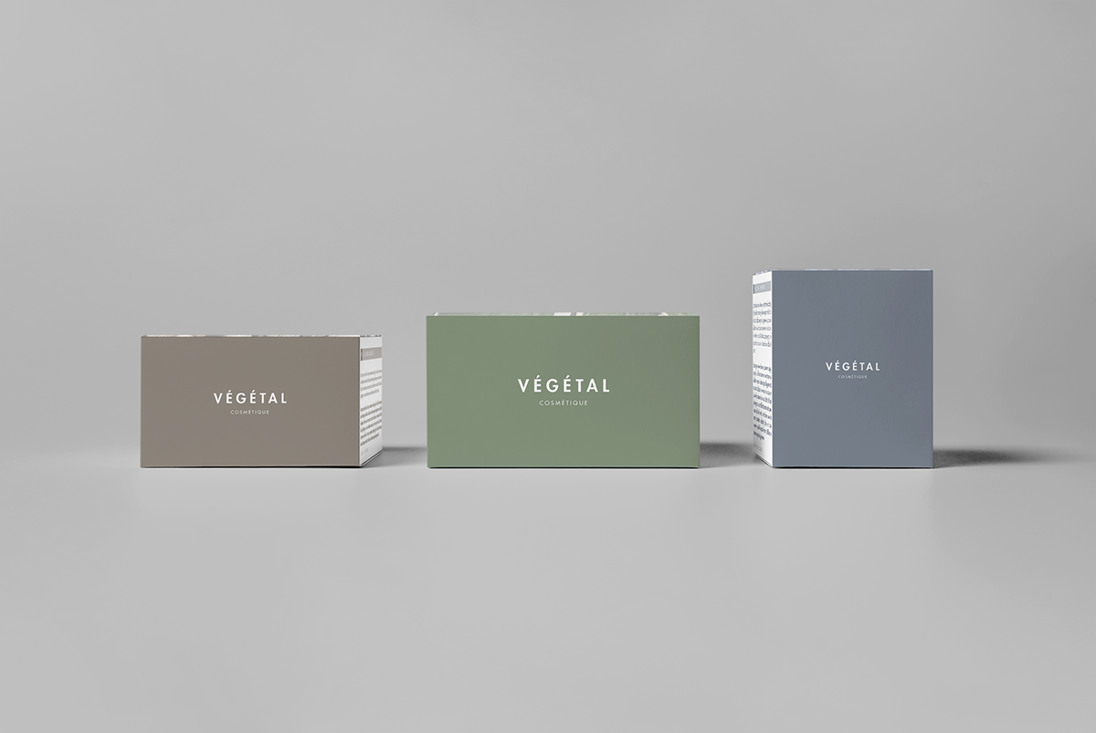 Cosmetic Packaging Layout on Student Show