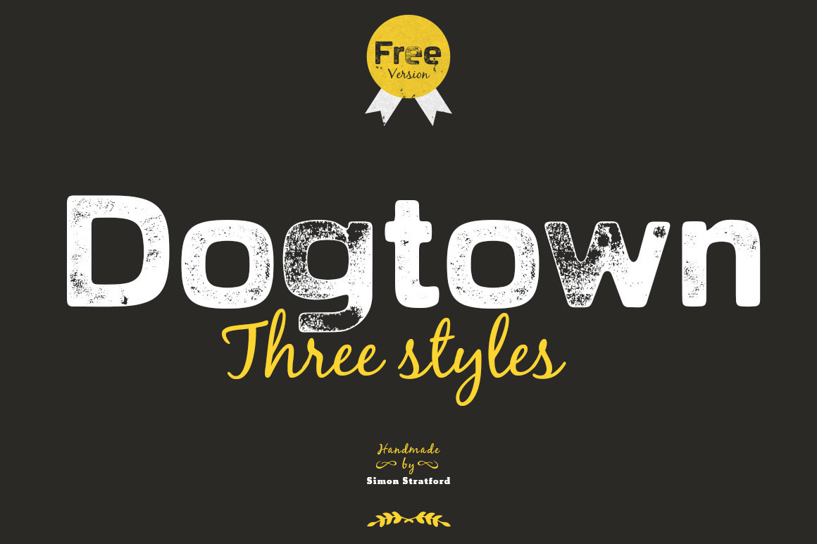 Dogtown typeface Font Download