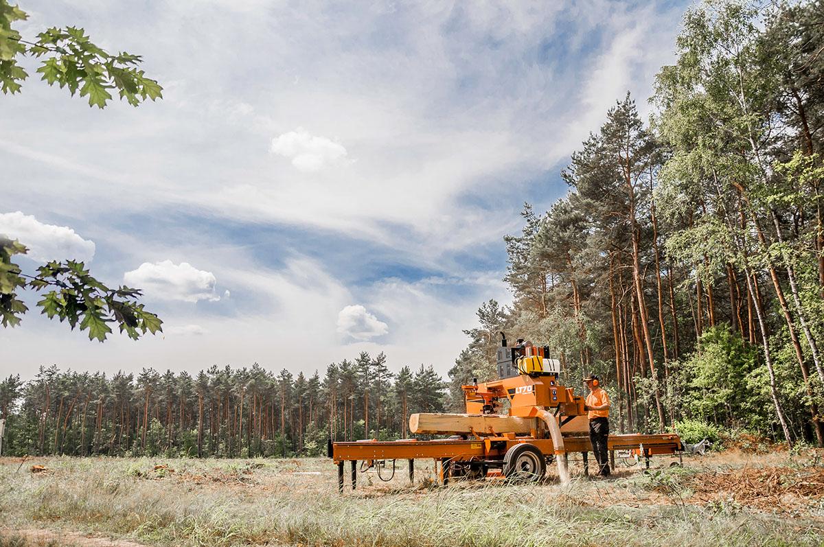 ostaa halvalla vähittäishinnat klassinen istuvuus Wood-Mizer LT70 Mobile Sawmill - Europe on Behance
