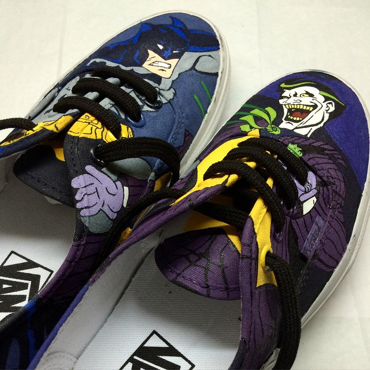 df6a0f1d38d2 Vans  Batman vs The Joker on Behance