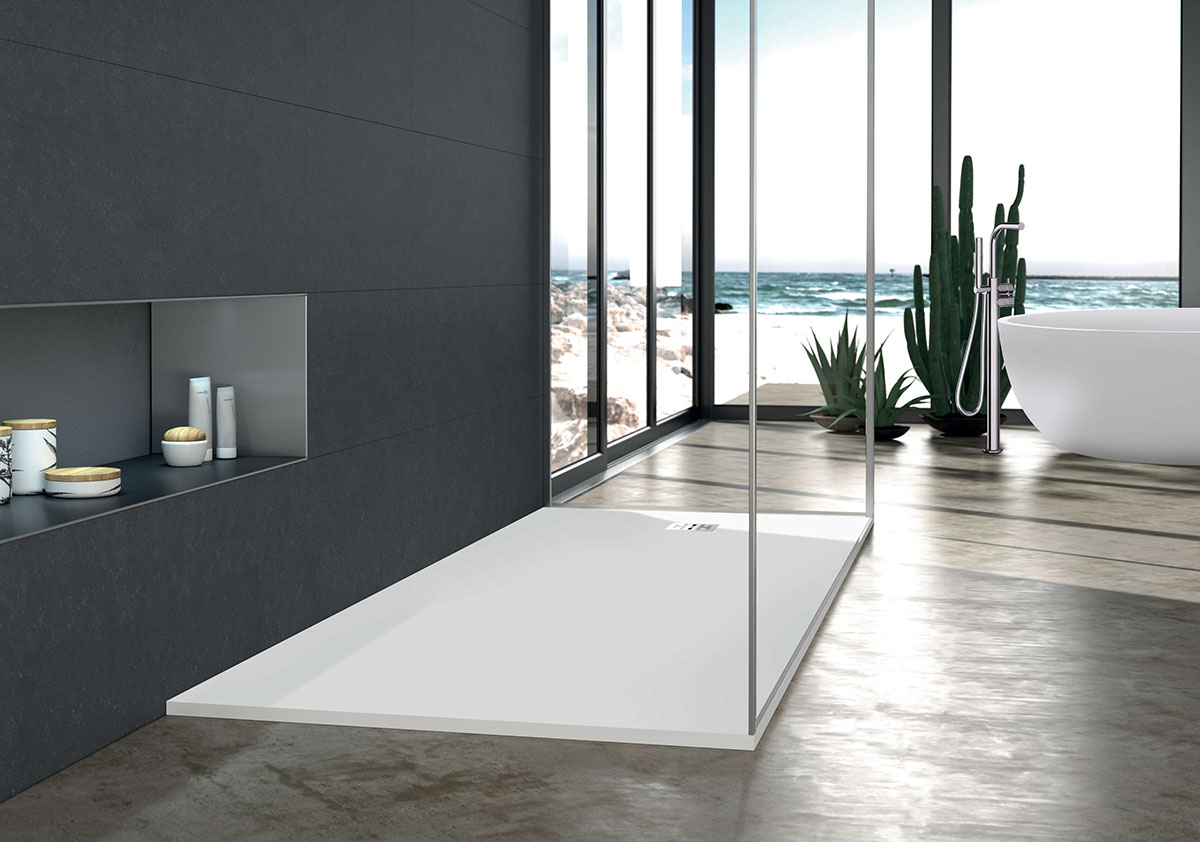 Good Designed For Drain Versatility, Alcove Or Freestanding Installation And  Flexible Surface Mount Or Recessed Installation, This Italian Made One Piece  Shower ...