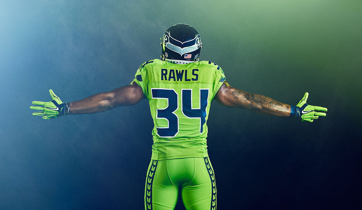 new styles 0a71f 00899 seahawks color rush jerseys 2016
